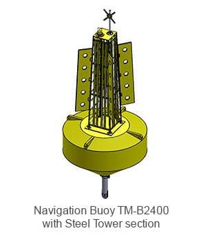 Navigation Buoy TM-B2400 Steel