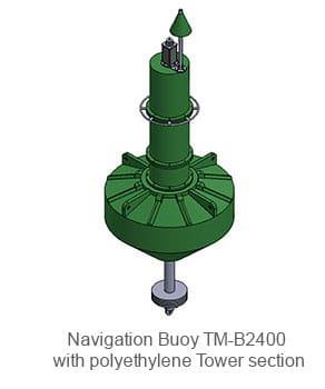 Navigation Buoy TM-B2400 polyethylene