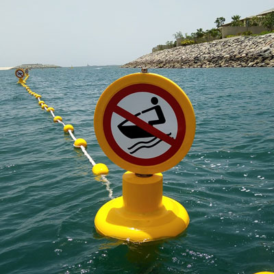 Signage buoys North West Marine Dubai