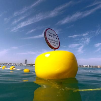 signage buoys dubai uae