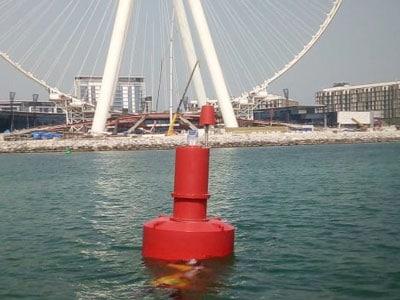 triton 1800 mm navigational buoy